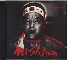 PHILIP GLASS - Mishima - CD OST 1985 COME NUOVO LIKE NEW UNPLAYED