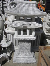 Japanische Laterne Steinlaterne Rankei 275 kg japanischer Garten Pagode  Neu
