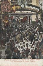 MARRUECOS TANGER VISITA DE KAISER A TANGER 31 MARZO 1905 AREVALE N°14