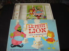 SERIE TV BOITE DE JEUX LOTO D'OBSERVATION LE PETIT LION