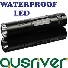 Small Sun 1 LED Flashlight  Bright Water Proof Torch 95mm 100lm One Touch