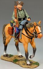 KING & COUNTRY WW2 GERMAN ARMY WS145 MOUNTED COSSACK HOLDING RIFLE MIB