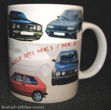 VOLKSWAGEN GOLF GTI MK1 / 11 CLASSIC CAR MUG.TOP GIFT