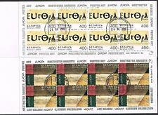 Weißrußland  488/89 o 2 Markenheftchen  Europa 2003 (3162)