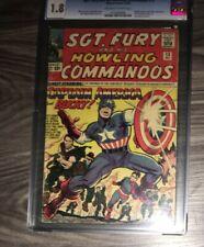 Sgt. Fury #13 (Dec 1964, Marvel) CGC 1.8 Stan Lee Story, Kirby Art, Capt America