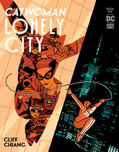 Catwoman Lonely City #1 Cliff Chiang Cover (Black Label) DC Comics