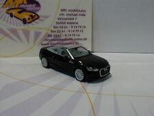 "Herpa 038768 - Audi A5 Cabrio in "" mythosschwarz metallic "" 1:87 NEU"