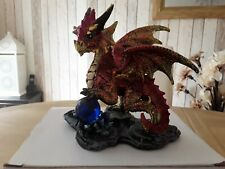 Crystal Rock Soothsayer Enchanted Nightmare Dragon Figurine