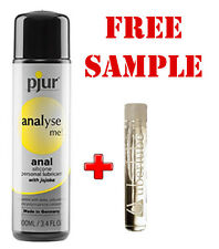 Pjur Analyse Me! Anal Lubricant - 100ml Silicone Lube + Free sample