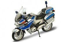 BMW R 1200 RT Polizei, blau/silber, Welly Motorrad Modell 1:18