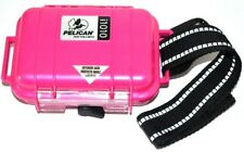 Pelican Case iPod Rugged Box Holder i1010 W/Strap & Clip Water Resistant Pink