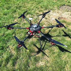 DRONE ESACOTTERO CLASSE 800 NUOVO ASSEMBLATO CON DJI N3+E800 PROPULSION NO TX RX