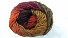 Noro Kureyon #263 Red, Orange, Yellow, Brown Tones 50g