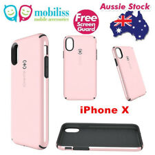Genuine Speck CandyShell Protective Case for Apple iPhone X /Xs Quartz Pink + SP