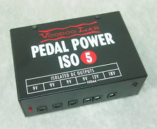 NEW! Voodoo Lab Pedal Power ISO 5 pedal power supply