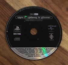 Spyro 2 Gateway To Glimmer Promo Disc Only - PlayStation 1 - PS1 - PAL - TESTED