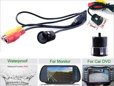 12V 170° Mini Color CCD Reverse Backup Car Front Rear View Camera Night Vision