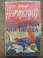 The Old Man and The Sea - Ernest Hemingway - Vintage 1952 1st Ed / 2nd  - Hc/Dj