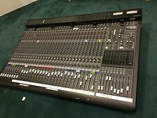 Mackie 32x8 Analog Mixing Console mixer board with Meter Bridge & power supply