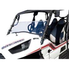 "Yamaha RHINO 450 660 700 4X4 2004-2013 Tusk +2"" Half Hinged Windshield"