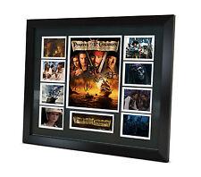 Pirates Of the Caribbean - Johnny Depp Signed Photo Movie Memorabilia Framed COA