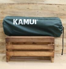 KAMUI Self Inflating Sleeping Pad 2 Inch Thick Foam | Connectable Mats (Green)