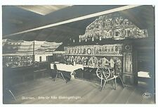 Sweden; Skansen Interior View of  Cottage at Museum RP PPC, Unposted