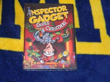Inspector Gadget Saves Christmas DVD Dr Claw Faithful Dog Brain North PoleNEW