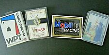 Lot/4 Vintage Factory Sealed Decks Casino Quality Playing Cards-WPT/Vegas/Mobil1