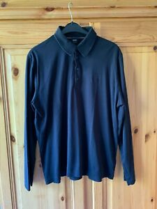 Hugo Boss tolles Polo Shirt, schwarz, Gr. XL, TOP!!