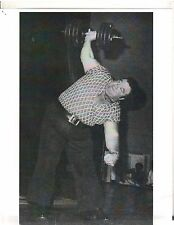 Weightlifting Photo Strongman Paul Anderson Bodybuilding Muscle B&W #9