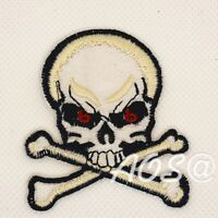 Collectibles Skull And Crossbones Embroidered Back Patch Medium S019p Biker Harley Tattoo Patches Wester Com Br