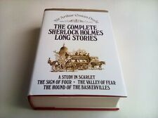 The complete sherlock Holmes long stories hardback book