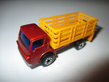 Matchbox Superfast Series #71 Dodge CattleTruck - brown metallic blue windscreen