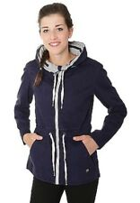 New Women's Bench Embroidered Lightweight Casual Jacket Parka Blue XS RRP£75
