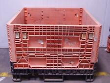 45x48x34 Ropak Bulk Container Pallet Boxes Plastic Collapsible Crate (Mixed Colo
