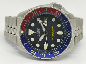 PRE-OWNED SEIKO SCUBA DIVER 7S26-0020 SKX009 AUTOMATIC MEN'S WATCH 480203