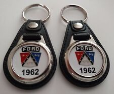 1962 FORD KEYCHAIN 2 PACK FOR GALAXY FALCON THUNDERBIRD FAIRLANE  PASSENGER