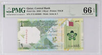 Qatar 1 Riyal ND 2020 P 32 Gem UNC PMG 66 EPQ