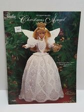 New listing Paradise Publications Victorian Crochet Christmas Angel Pattern Book