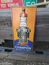 CHAMPION SPARK PLUGS Display Metal Signs Gasser 64 65 66 67 68 69 70  emblem