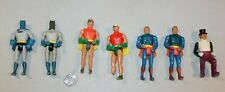 "U PICK 1975 1979 Mego DC figures Batman Superman Robin Penquin 4"" loose parts"