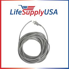 100pk 17/2 35ft Upright Vac Electric Power Cord w Open End Striped Wire (35 ft)