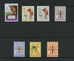 W618  Portuguese Colonies - small MNH selection - see scan
