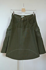 GONNA VELLUTO COSTE+TELA MILLA OWEN TG40 – WOMAN'S MIX-CORDUROY SKIRT SZ40