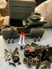 Tyco Super Blocks Adventure Military Series Ground To Air Defender