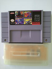 ES-SNES ADAPTER PLAY USA-JAPAN-PAL IN ALL SNES + 4 IN 1 USA CART NEW