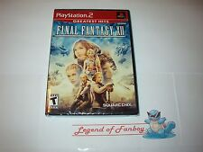 * New * Sealed * Final Fantasy Xii 12 for Sony PlayStation 2 Ps2 Square-Enix