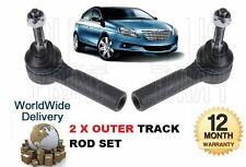 FOR CHRYSLER DELTA 2010->NEW 2x OUTER LEFT & RIGHT TRACK TIE RACK ROD END SET