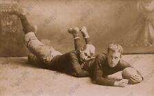 Vintage Antik Foto, Male, Männer, Jungen Studiophoto, Gay Paar, Gay interest